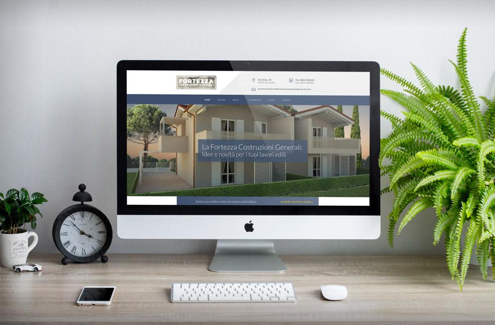 Online il nuovo sito La Fortezza Costruzioni
